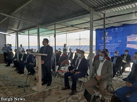 Launch of six solar power plants in Iran