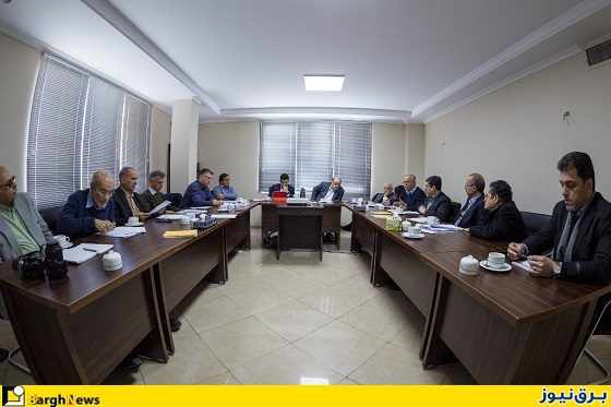 جلسه مدیرعامل سابق توانیر و اعضای سندیکای برق+تصویر