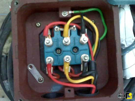 on 3 phase induction motor connection diagram