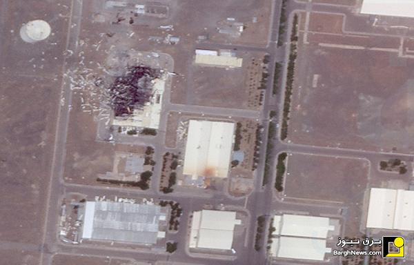 جزئیات جدید حول حادثه تاسیسات هستهای نطنز