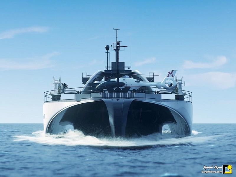 کشتی های آینده به صادر کننده برق تبدیل میشوند!